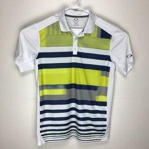 Oakley O Hydrolix mens short sleeve polo shirt L